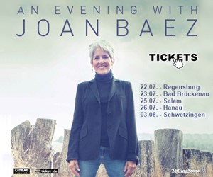Joan Baez on Tour - Hier klicken und Tickets bestellen!