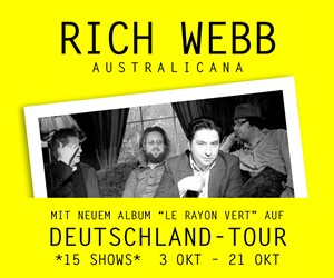Rich Webb: Tour & Album 2018