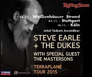 Steve Earle on Tour - Hier klicken und Tickets bestellen!