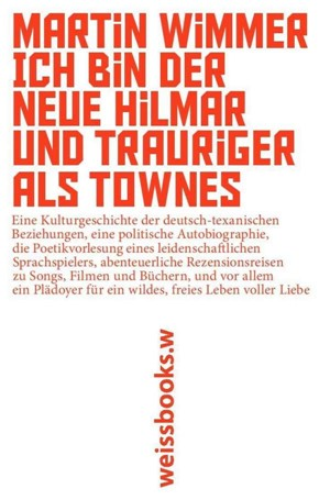 Martin Wimmer - Ich bin der neue Hilmar und trauriger als Townes