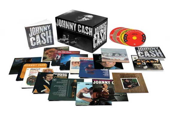 Johnny Cash, The Complete Columbia Album Collection