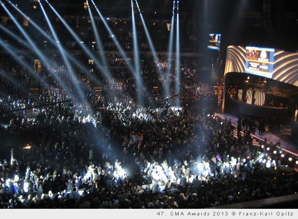 47. Country Music Awards in Nashville