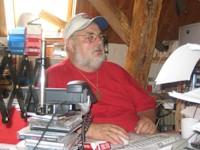 Larry in seinem Büro
