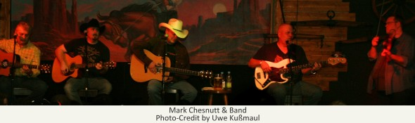 Mark Chesnutt und Band