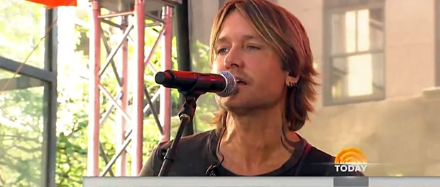 Keith Urban (Today Show, NBC)