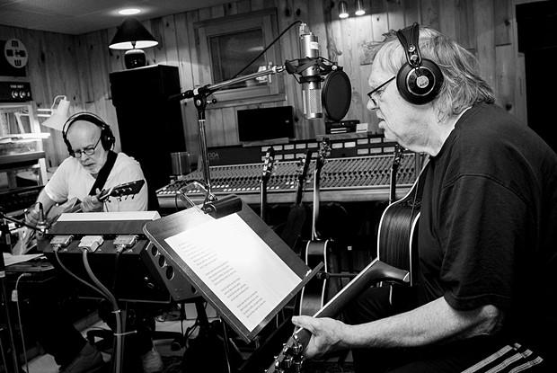 Nils Tuxen und Gunter Gabriel im LickLab Studio