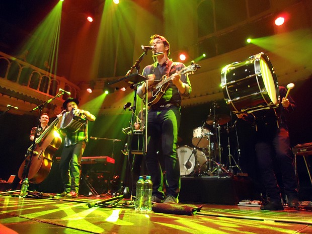 Old Crow Medicine Show - Paradiso, Amsterdam, Live
