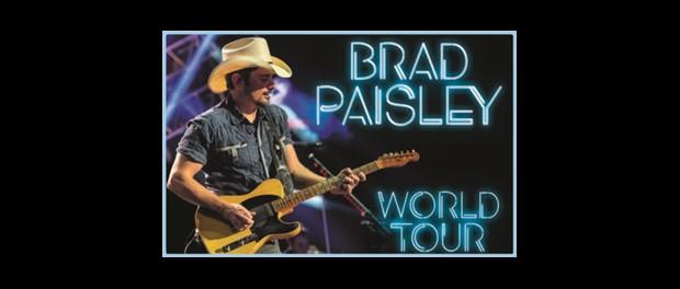 Brad Paisley - World Tour 2019