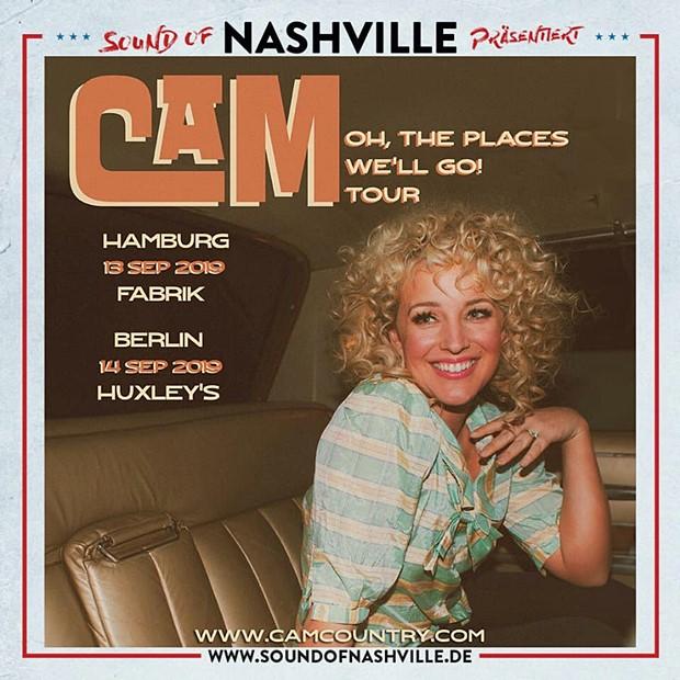 Sound Of Nashville präsentiert: CAM