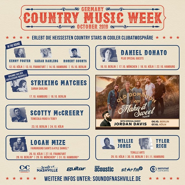 Country Music Week - Oktober 2019