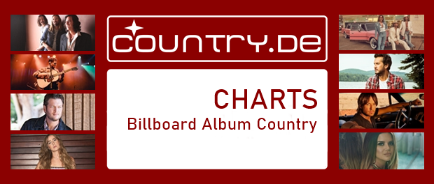 Country Album Charts des Billboard