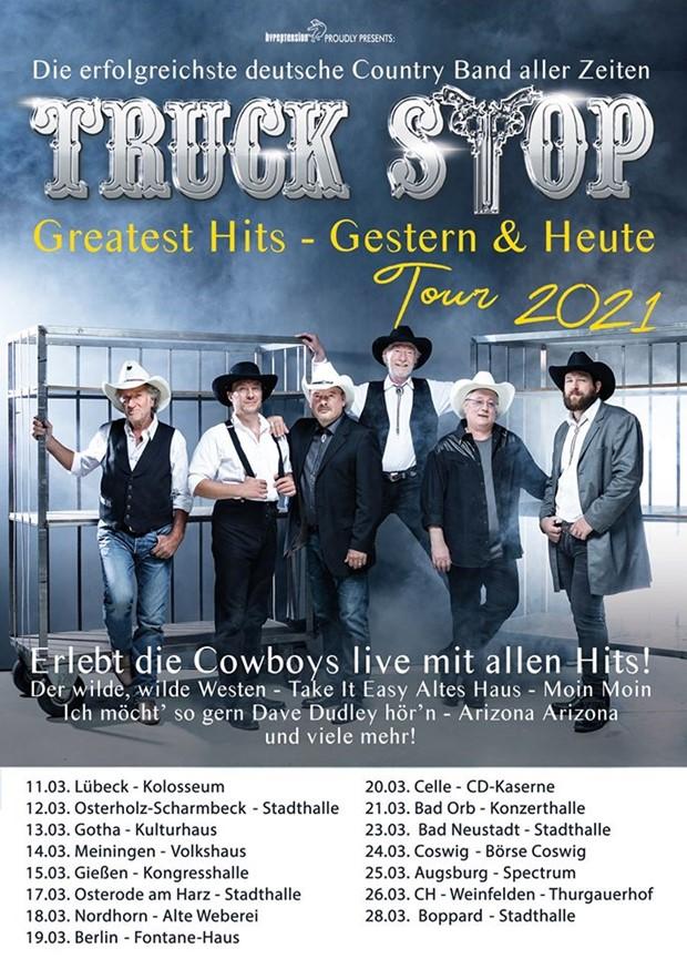 Truck Stop: Greatest Hits – Gestern & Heute 2021