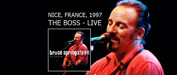 Bruce Springsteen - Nice, France, 1997